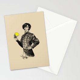 Sherlock - Not Sure if the Lemon is in Play?! Stationery Cards