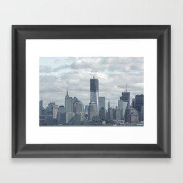 NYC Skyline 2012 Framed Art Print