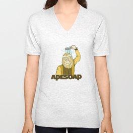 Dr. Zaius Ape Soap Unisex V-Neck