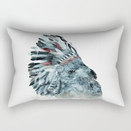 the elder hawk Rectangular Pillow