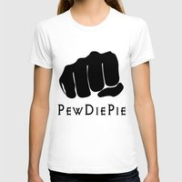 pewdiepie T-shirts featuring Pewdiepie by rita rose