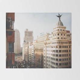 Gran Vía Throw Blanket