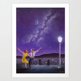 City Of Stars - La La Land Art Print