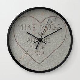 Mike Mogg - Anyone Like You Wall Clock