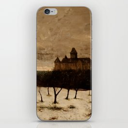 The Castle of Blonay by Gustave Courbet iPhone Skin