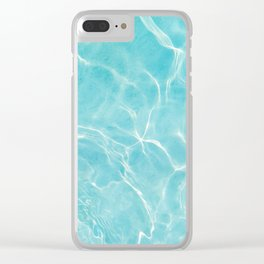 Pool Dream #5 #water #decor #art #society6 Clear iPhone Case