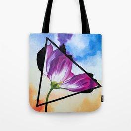 Twisted Tulip Tote Bag