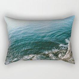 Look Down Rectangular Pillow