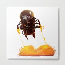 Cobra Unit - The Fury Metal Print