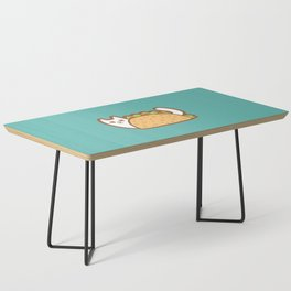 Taco Cat White Coffee Table