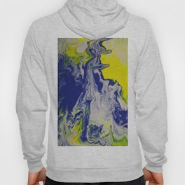 Marble Earth Pour Deux Hoody