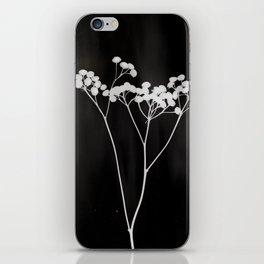 Flower Photogram II iPhone Skin