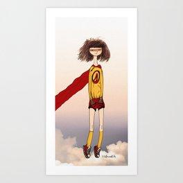 Captain Awkward Art Print