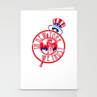 """yankees Stationery Cards featuring """"Subway Series"""" Yankees by InNYweTrust"""