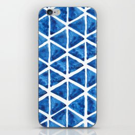 Watercolor triangles iPhone Skin