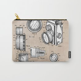 patent art Winslow Camera Accessories 1960 Carry-All Pouch