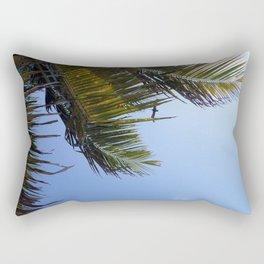 Palms and Pelican  Rectangular Pillow