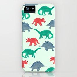 DINOS iPhone Case