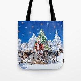 Santa Kringle Claus Tote Bag