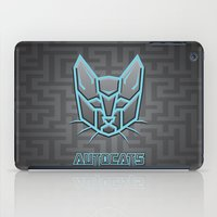 transformers iPad Cases featuring Autocats Transformers by Enrique Valles