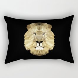 Polygon Heroes - The King Rectangular Pillow