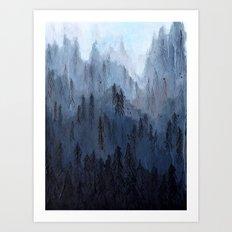 Mists No. 3 Art Print