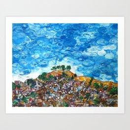 View of Bernal Hill Art Print