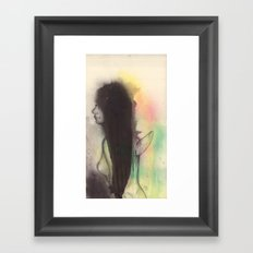 Nude angel Framed Art Print