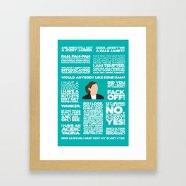 Green Wing - Sue Framed Art Print