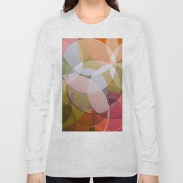 Abstract Composition 626 Long Sleeve T-shirt