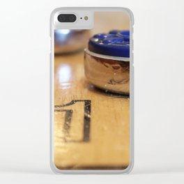 The Name of the Game Clear iPhone Case