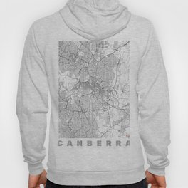 Canberra Map Line Hoody
