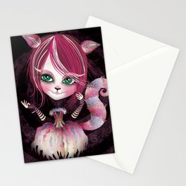 Cheshire Kitty Stationery Cards