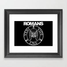 Romans Framed Art Print