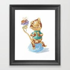 Camelot & Bee Framed Art Print