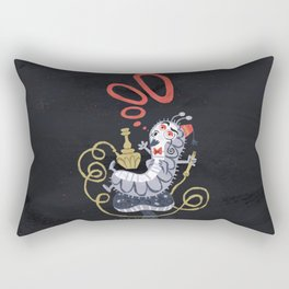 Caterpillar - Alice in Wonderland Rectangular Pillow