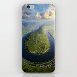 Incredible Mosel River Bend in Germany iPhone Skin