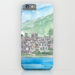 Ireland Kylemore Abbey Connemara County Galway iPhone Case