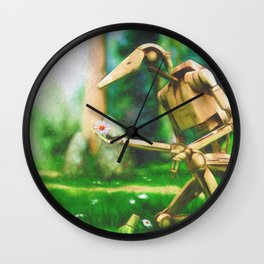 Gift of the Droid Wall Clock