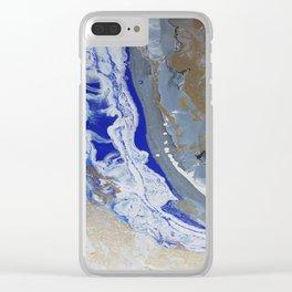 Ocean Side Clear iPhone Case