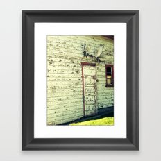 Don't Forget About Me Framed Art Print