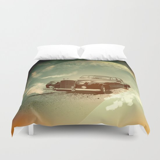 Bentleys Duvet Cover