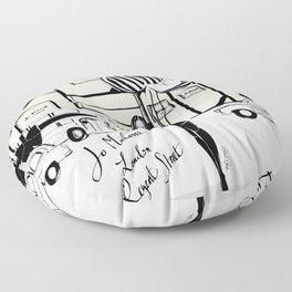 JoMalone London Floor Pillow