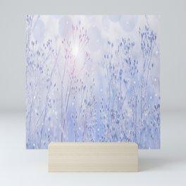 Winter Sparkle On A Sunny Frosty Day #decor #buyart #society6 Mini Art Print