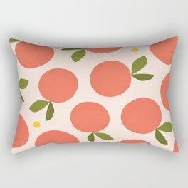 Orange + Grapefruit Rectangular Pillow