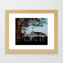 Magnolia-Christmas Bakery Framed Art Print