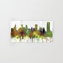 Buffalo, New York Skyline - SG Safari Buff Hand & Bath Towel