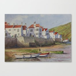 Staithes-North Yorkshire Canvas Print