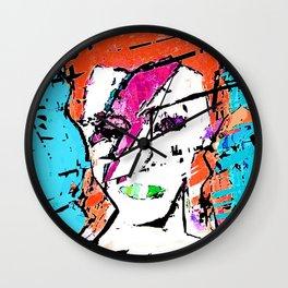 Aladdin Sane reborn Wall Clock