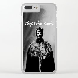 DM : Dave Gahan  The King From Enjoy The Silence Clear iPhone Case